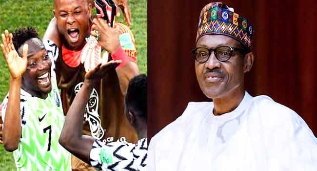 Buhari Urges Super Eagles To Sustain Winning Momentum Against Argentina