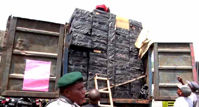 Customs Seize Trailer Load Of Tramadol, Goods Worth N900m