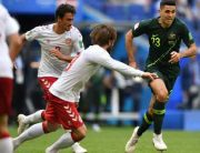 World Cup: Denmark Hold Australia To 1-1 Draw