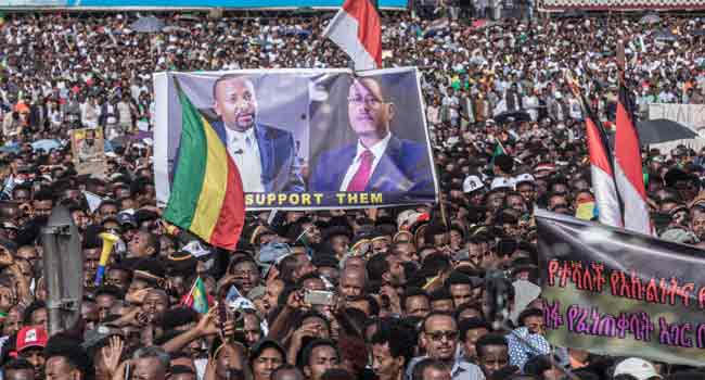 Ethiopian PM's Rally Leaves Scores Injured