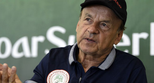 Rohr Insists Future Is Bright For Youthful Nigeria