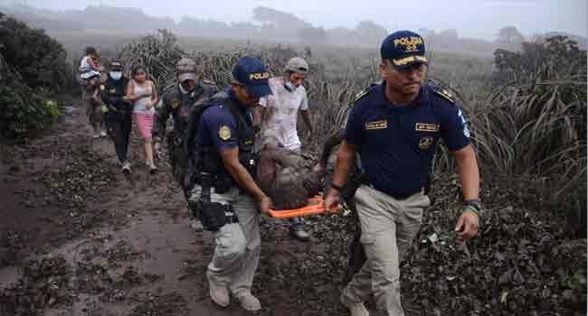 Dozens Die As Guatemala Volcano Erupts
