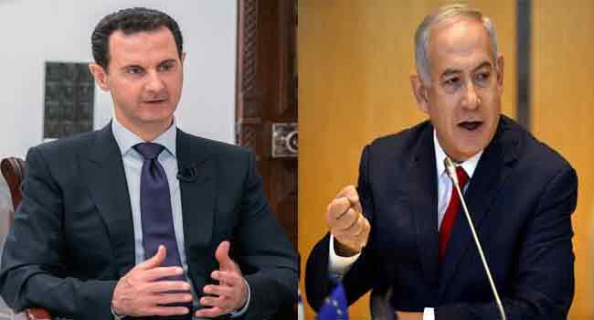 Netanyahu Warns Assad On Iranian Presence In Syria