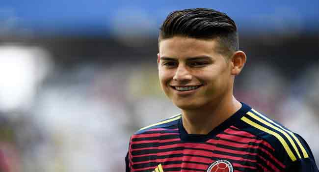 James Rodriguez Left Out Of Colombia's World Cup Opener