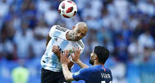 Argentina's Mascherano Calls Time On Career After Painful France Defeat