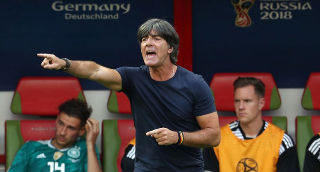 German Coach, Loew Tells Players To'Take Control Of Nations League Group