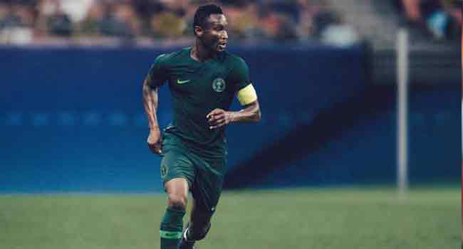 Mikel Starts For Nigeria Against England