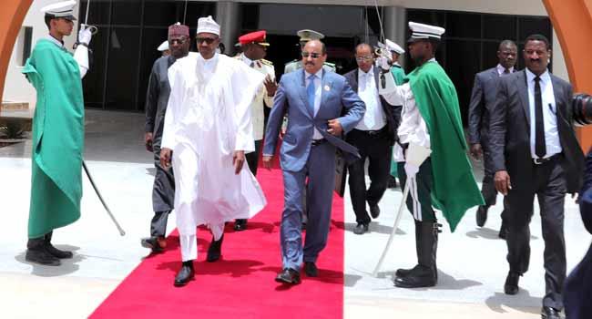 President Buhari Travels To Mauritania For AU Summit