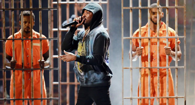 Meek Mill Takes On Police Brutality As He Performs At BET Awards