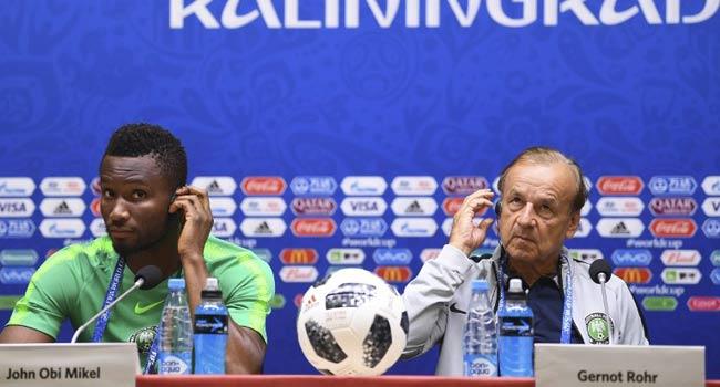 Mikel Calls For Calm, Focus Ahead Of Nigeria's Clash With Croatia