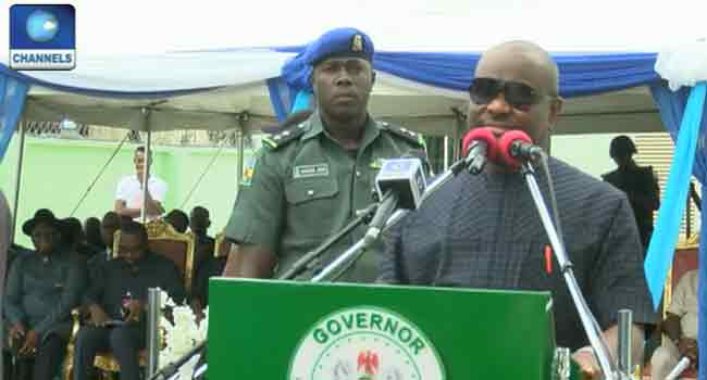 Wike Calls For Hygienic Living As Rivers Renovates Houses For Civil Servants
