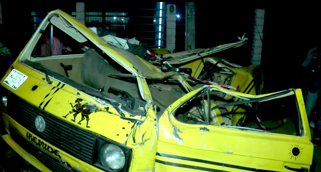 Three Dead, Two Injured In Ojuelegba Truck Accident