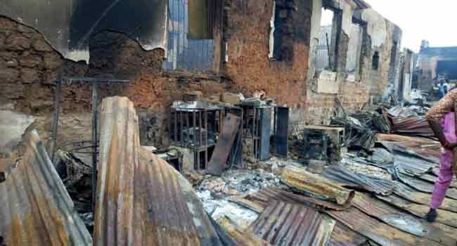 Fire Destroys Shops, Property In Akure