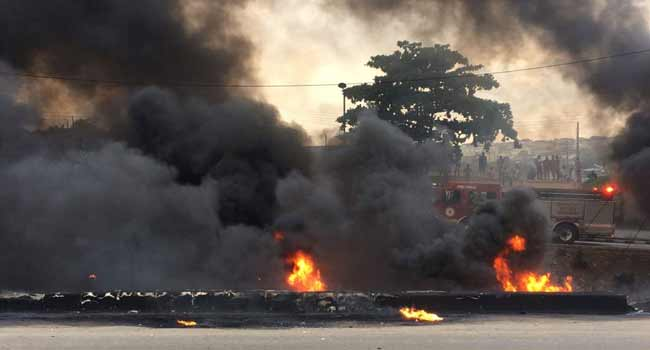 Tragedy as another fuel tanker explodes