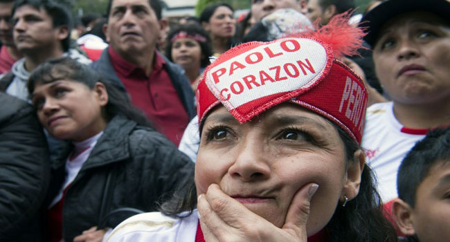 Tears In Lima As Peru Bow Out Of World Cup