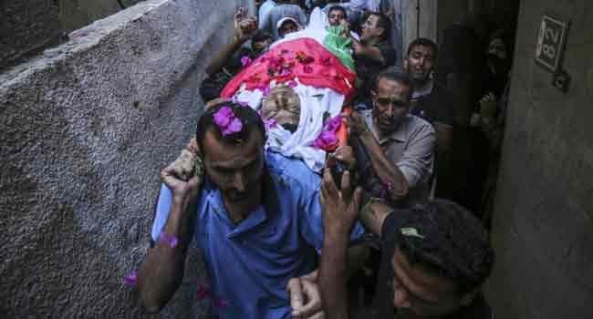 Palestinians Killed In Gaza Fireworks Blast