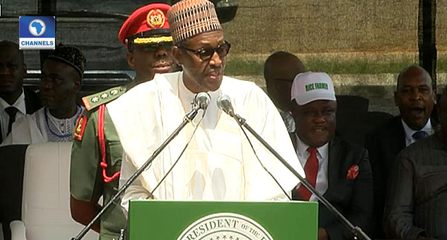 Buhari Inaugurates Rice Factory In Calabar, Says FG Making 'Giant Agricultural Strides'