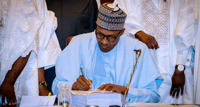 Buhari's Speech At Signing Of 2018 Budget [Full Text]