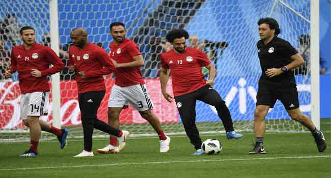 All Eyes On Salah As Egypt Face Russia