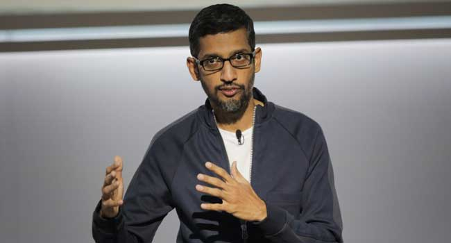 We Have 'Checks And Balances' Against Political Bias – Google CEO