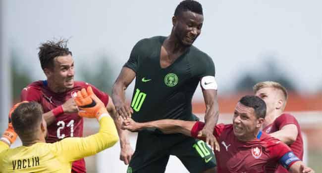 Czech Republic Hand Nigeria Second Defeat In One Week
