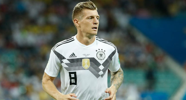 Germany's Kroos Relishing Shot At Redemption Against France