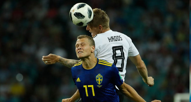 [UPDATED] Kroos, Reus Save Germany From Shock World Cup Elimination