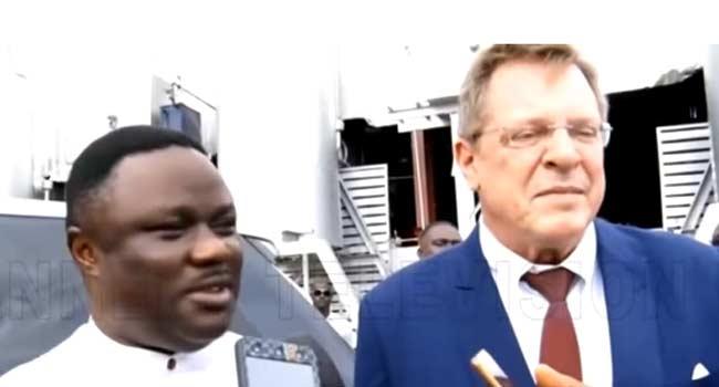 State Development: US Envoy John Bray Hails Ayade's Administration