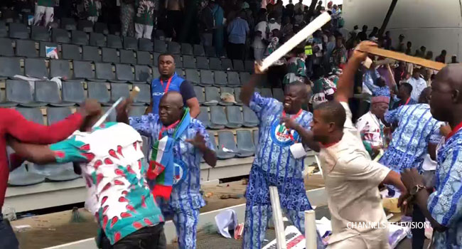 [UPDATED] Delegates Clash At APC National Convention