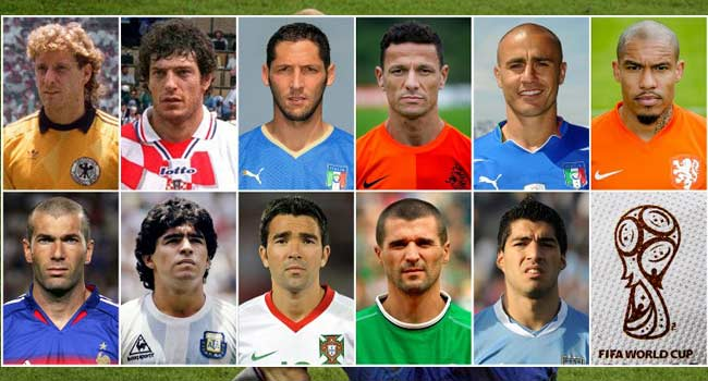 From Suarez To Keane: Meet The World Cup's 'Bad Boys'