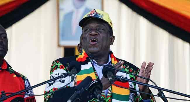 Zimbabwean President Blames Rally Blast On Grenade