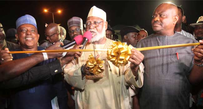 Abdulsalami Commends Wike For Project Delivery In Rivers