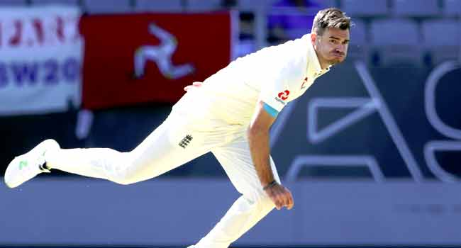 Injured Anderson To Have Six-Week Break From Cricket