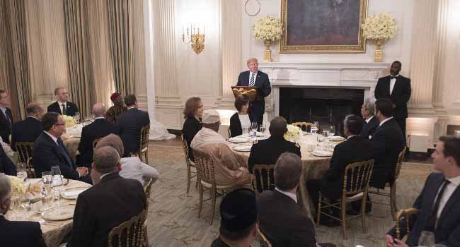 Trump Hosts First Iftar Dinner At White House