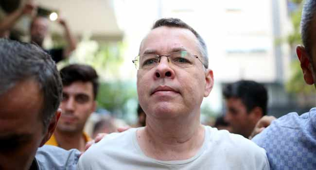US Rejects Turkey's Offer To Release Pastor – Report