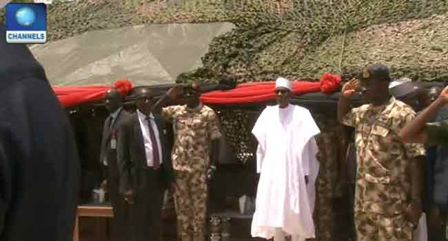 LIVE: Buhari, Shettima, Others Attend Army Day Celebration