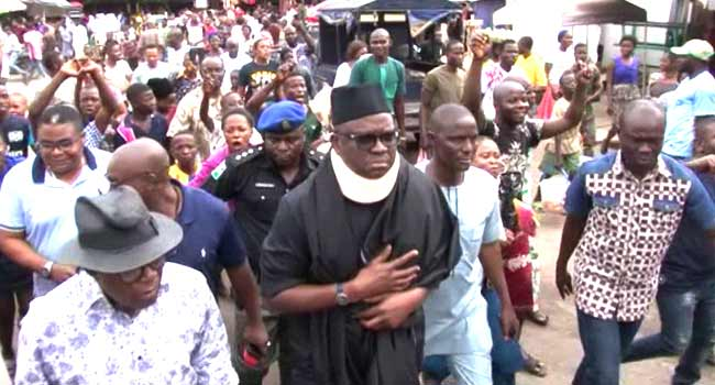 'I Need A Right To Life', Fayose Demands After Ekiti Election