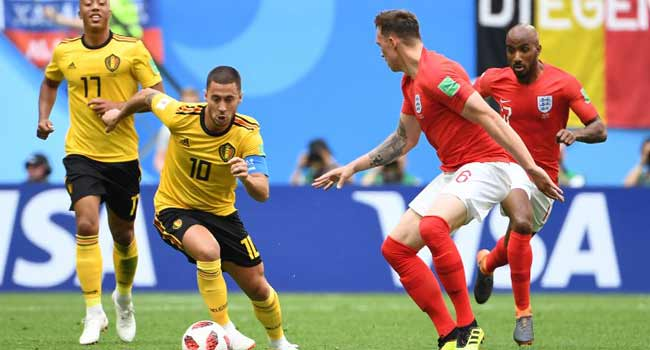 LIVE: Belgium Battle England For World Cup Bronze Medal