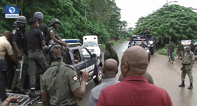 Again, Police Storm Benue Assembly