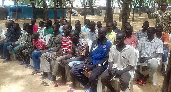 32 Boko Haram Terrorists Surrender In Borno – Army