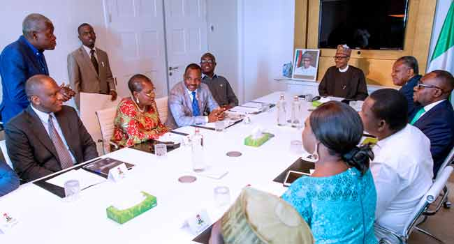 Buhari Commends Quality Of Nigerian Professionals In Netherlands