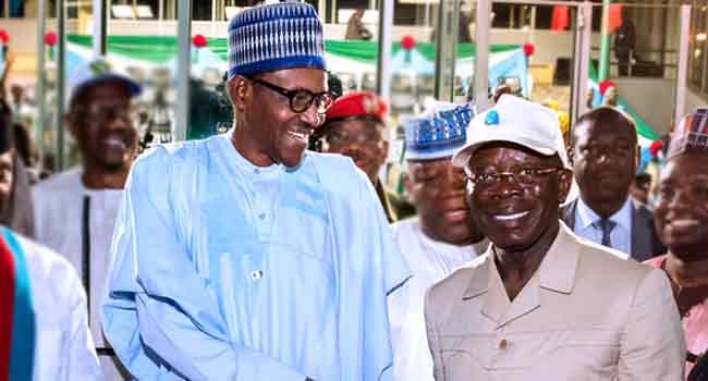 Oshiomhole Meets With Buhari In Abuja