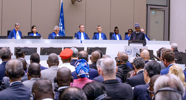 Buhari Assures ICC Of Free And Fair Elections In 2019