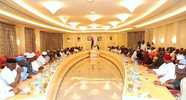 Defections: Buhari Meets With APC Senators