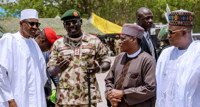 We're Still Making Efforts To Rescue Leah Sharibu, Chibok Girls – Buhari