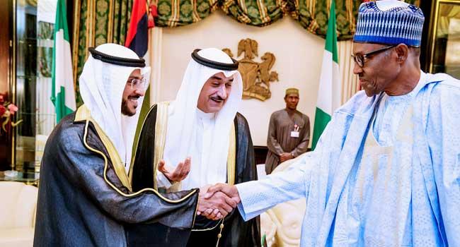 PHOTOS: President Buhari Receives Outgoing Ambassador Of Kuwait In Abuja
