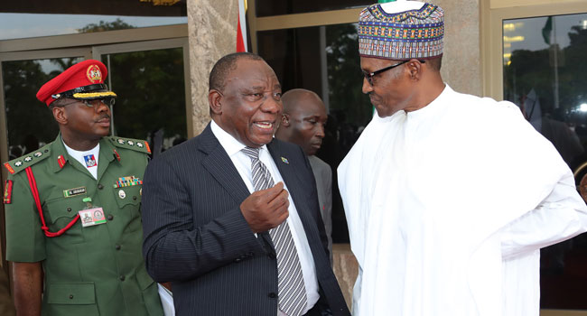 Killing Of Nigerians In South Africa Is 'Criminally Motivated,' Says Ramaphosa