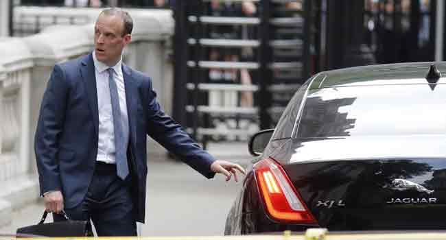 Theresa May Appoints Dominic Raab As Britain's New Brexit Minister