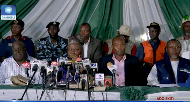 LIVE UPDATES: Ekiti Governorship Election Results