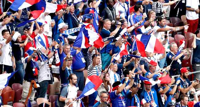 LIVE: France Battle Croatia For World Cup Glory